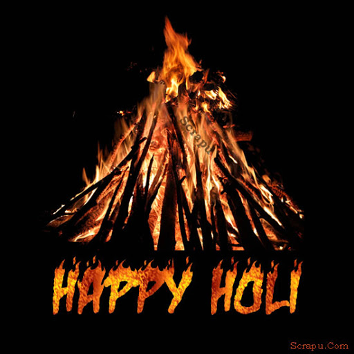 Holi image Wish you all a very Happy and Blessed Holika Dahan.