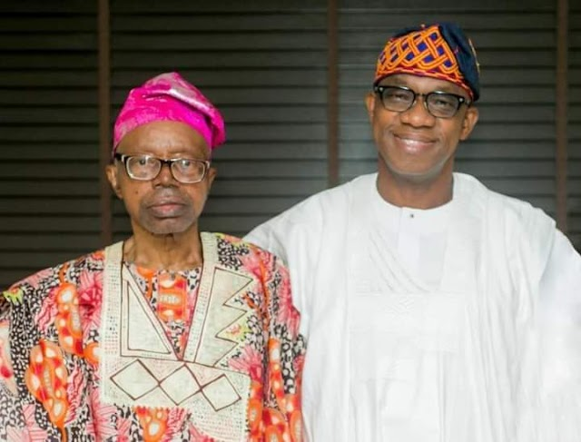 Aare Adetola Emmanuel King condoles with Governor Abiodun over father's death