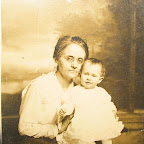 Ella B. Trotter Gleaves, the wife of Dr. E.L. Gleaves, holding her granddaughter, Eleanor Ruby Gleaves, the daughter of Roy Lee and Ruby Anderson Gleaves.  When Ruby was 3 years old, her mother died and her grandparents raised her.