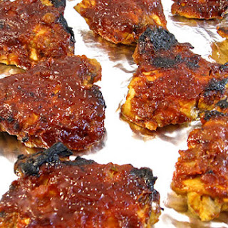 Finger-Licking Good Chicken with Homemade Barbecue Sauce.