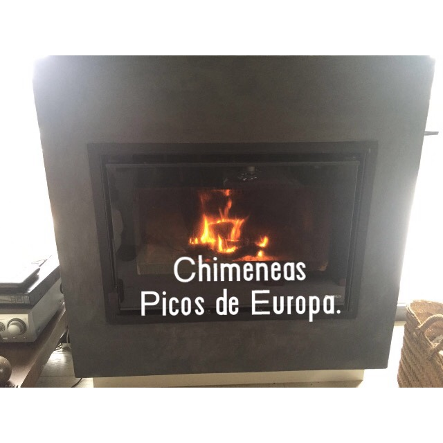 Chimeneas picos de europa chimenea abierta insertado - Chimeneas picos de europa ...