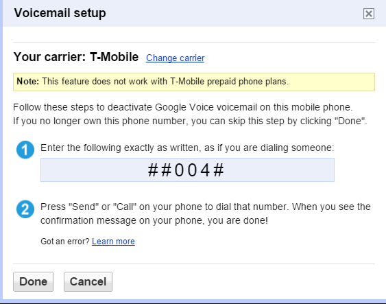 Google Voicemail Suddenly not Working - Google Voice Help
