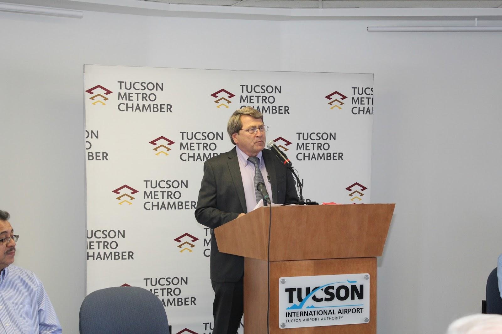 Tucson - JFK Non-Stop Route Announcement - IMG_3170.JPG