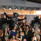 """180120EP Eileen Perez """"A Night in Paris"""" Theme in Cape Coral, Florida."""