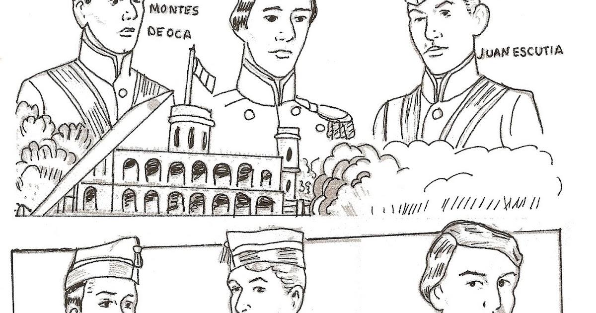 Imagenes Para Colorear Sobre Los Ninos Heroes Te Cuento Un Cuento