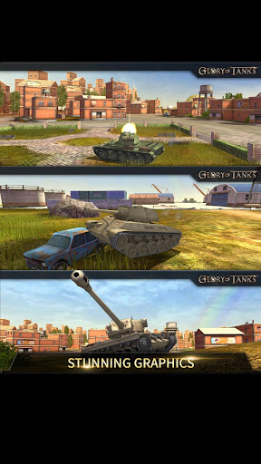 Glory Of Tanks: 5v5 multiplayer tank battles 1.4.174.0 screenshots 4