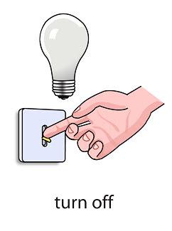 turn%2520off%2520 %2520flashcard Verb flashcard