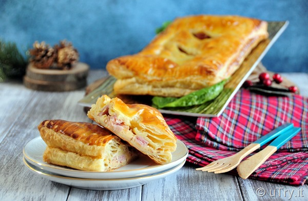 Holiday Appetizer – Easy Ham and Cheese Puff  http://uTry.it