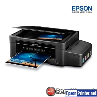 Reset Epson L375 ink pads are at the end of their service life