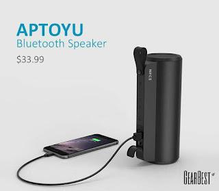 aptoyu bluetooth speaker