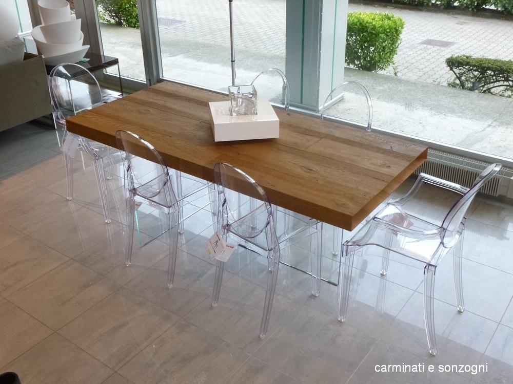 tavolo wildwood Lago - sedia Victoria Ghost Kartell - sedia Louis Ghost Kartell -1.jpg