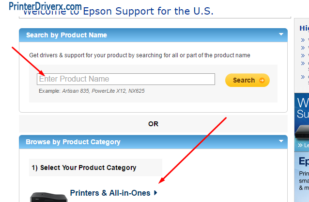 Did not find your Epson L355 printer driver download