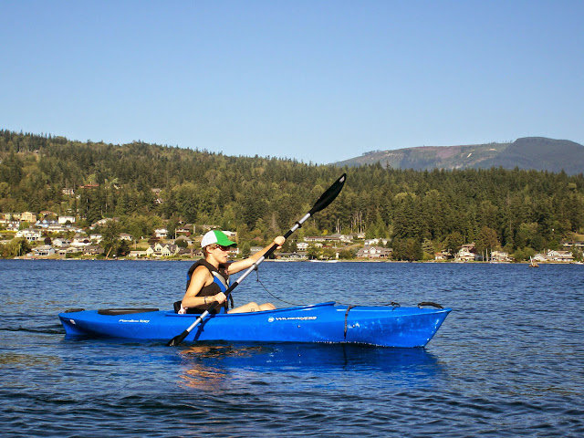 Kayaking on Lake Whatcom / Credit: Stefanie O'Dell