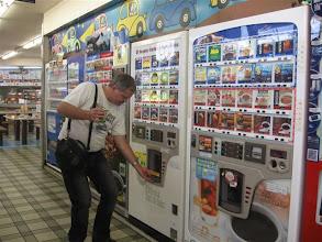 Photo: nápojové automaty