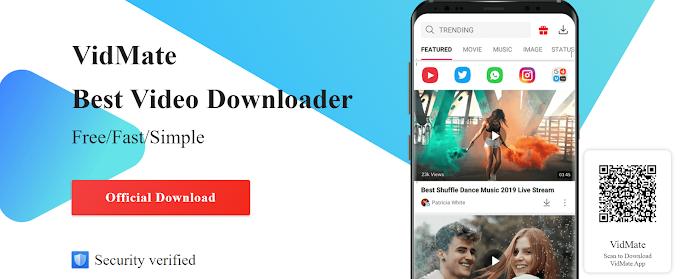 Download VidMate App (APK) latest version 2021 in Official Website.