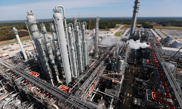 "The Kemper power plant in Mississippi, the world's most ambitious ""clean coal"" plant, was presented as a global model for 'clean coal' operations. Photo: Rogelio V.Solis / AP"