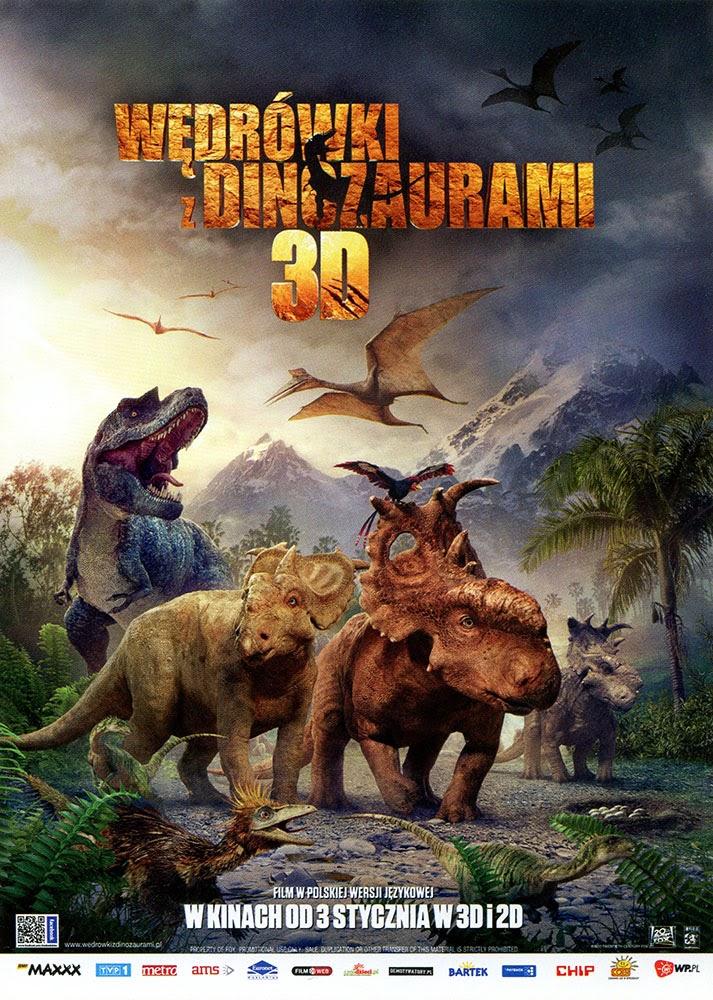 Ulotka filmu 'Wędrówki Z Dinozaurami (przód)'
