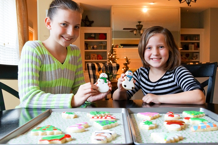 simple cookie decorating with kids