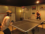Josh and Eric have a ping pong rivalry