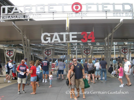 Target Field. From Through the Eyes of an Educator: Minneapolis, Minnesota