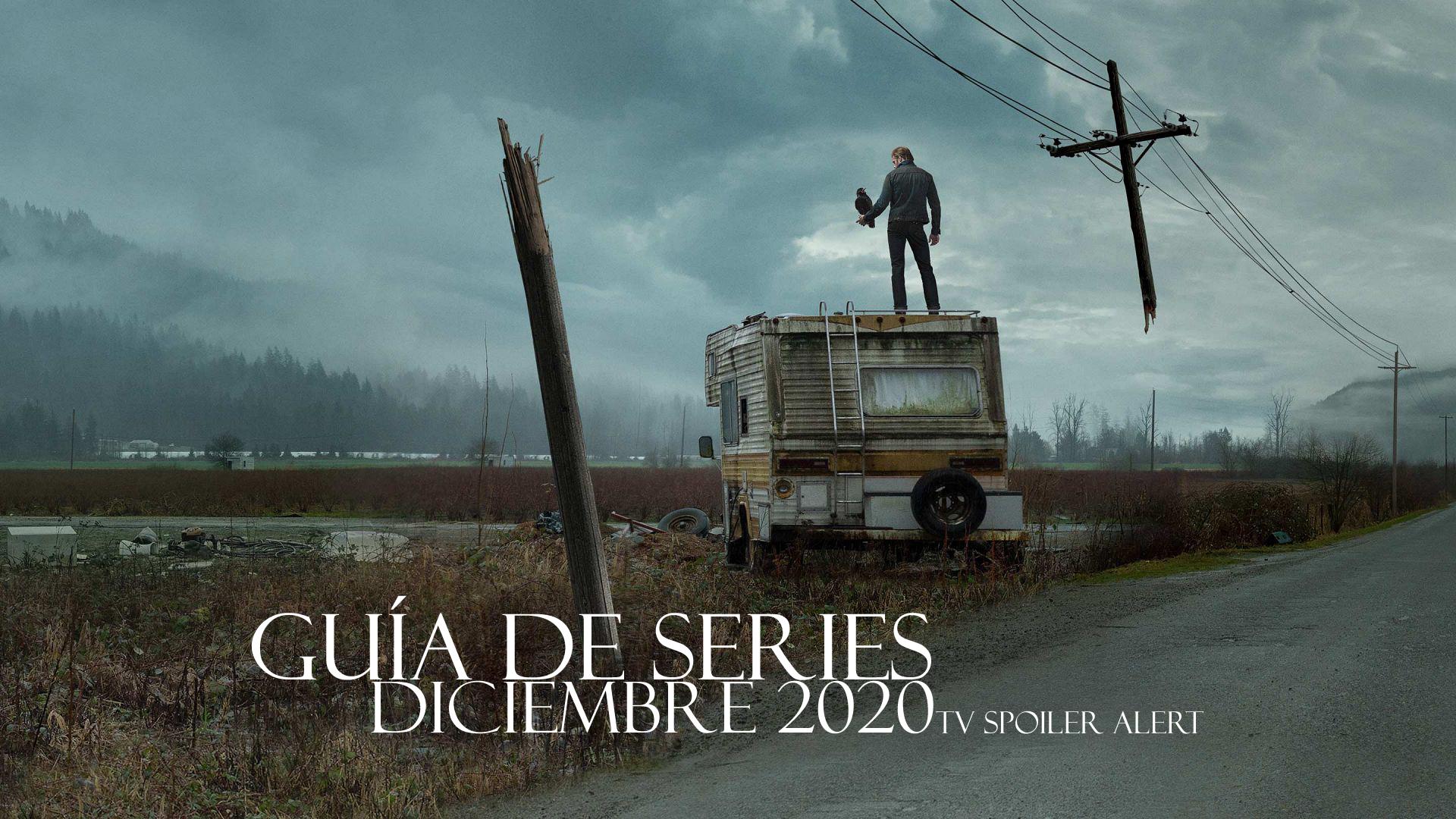 Guía de estrenos y regresos de series en diciembre de 2020