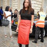 WWW.ENTSIMAGES.COM -     Delilah    at    LFW - Somerset House Courtyard September 13th 2014                                               Photo Mobis Photos/OIC 0203 174 1069