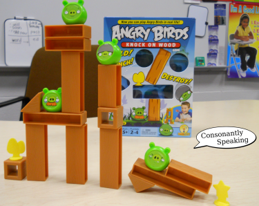 Angry Birds Board Game in Speech