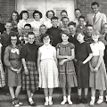 Sixth Grade with Mr. Bernard- 1955