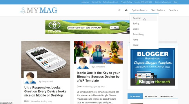 mymag-blogger-template
