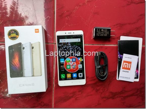 Paket Pembelian Xiaomi Redmi Note 4
