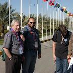 Luc Panissod, Secretario General de la OMMS con miembros del Bureau Mundial