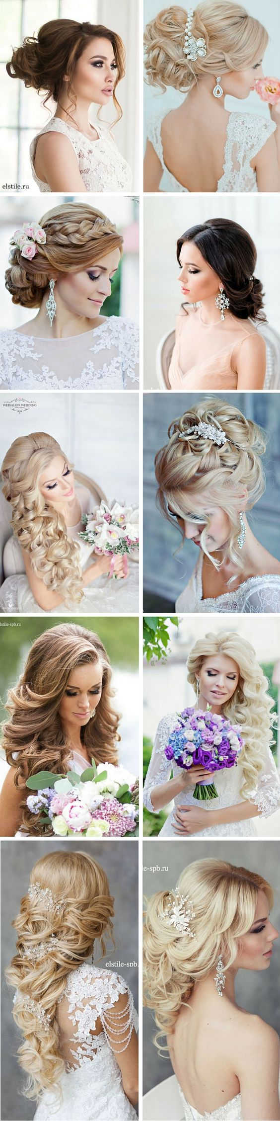 Hairstyles-Gorgeous Wedding Forٍ Chic Bride On Class World 2