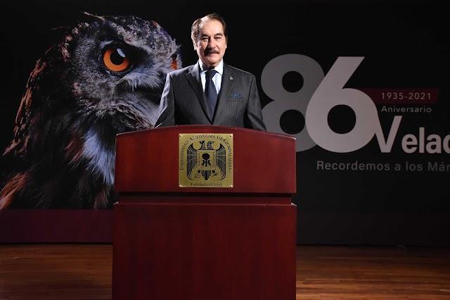 Conmemora la UAG 86 años de fundación