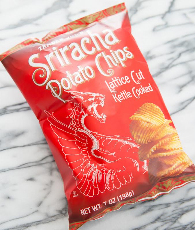 photo of a bag of Sriracha Potato Chips