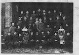 1922 2° elementare - pamela re maestra, negrini, iolanda vignoli, zia leonardo, centina malvicino, gianina orecchia, teresa malvicino