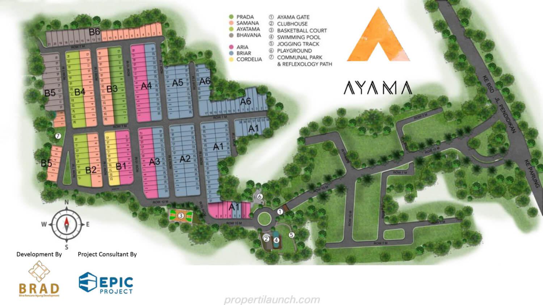 Master Plan Cluster Ayama