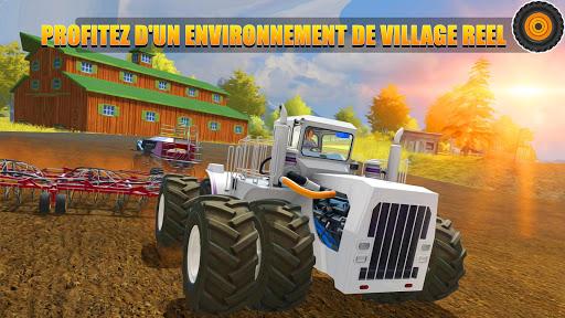 Télécharger Tracteur agricole pilote: village Simulator 2019 APK MOD 1