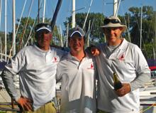 J/24 Canadian sailors- at Royal Canadian Yacht Club- sailing match race series