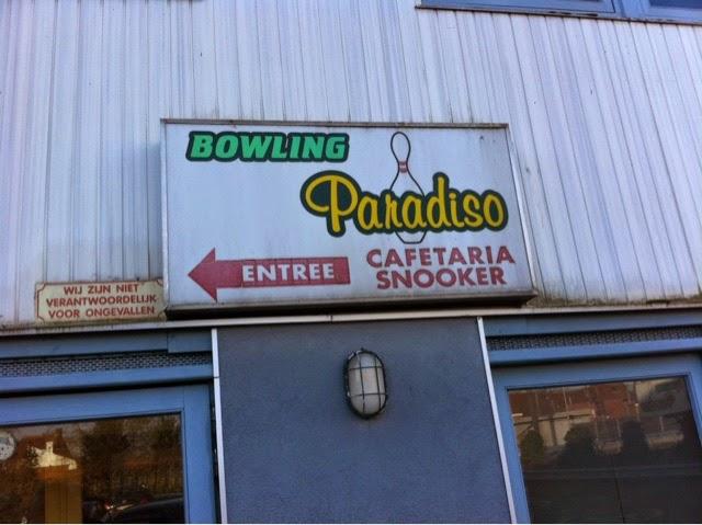 Bowling Paradisio vintage