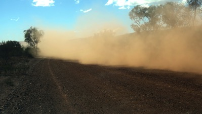 Road Train Dust 2