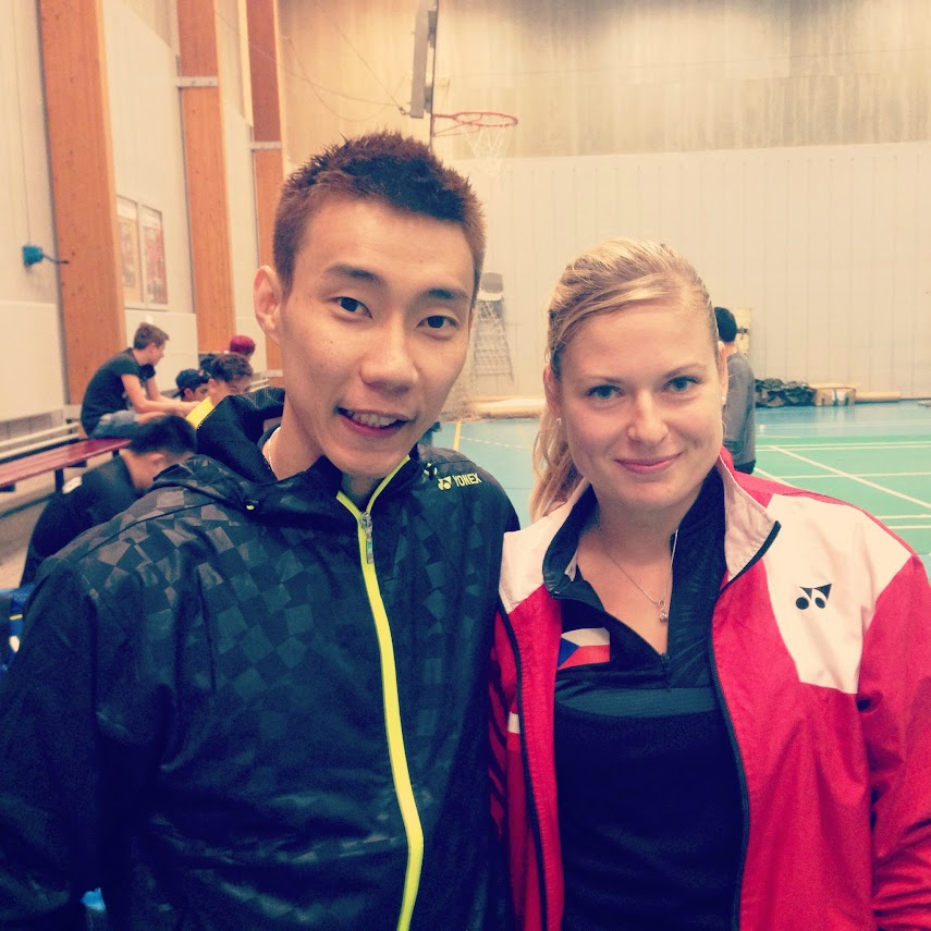 Chong Wei Lee and Katka Tomalová