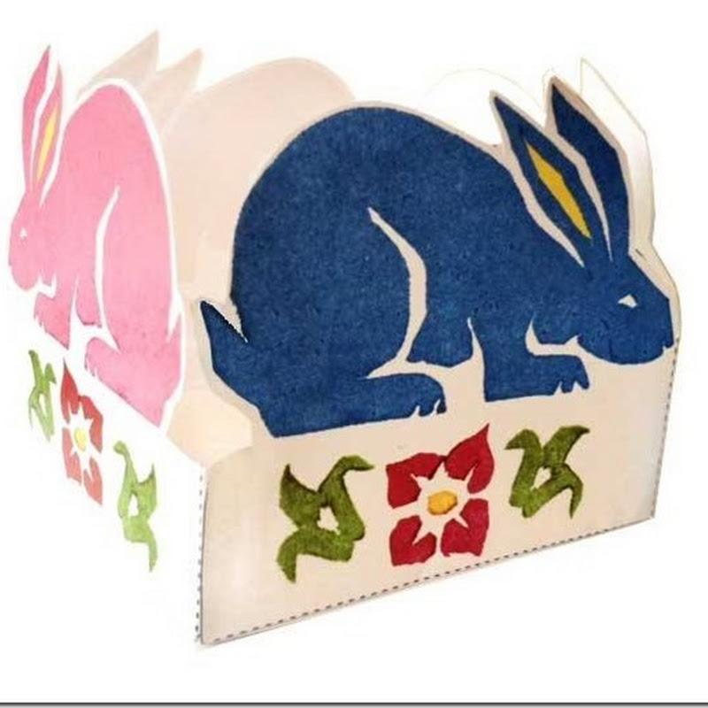 decargar cajitas conejos pascua