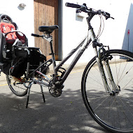 Lou's Xtracycle and Peapod