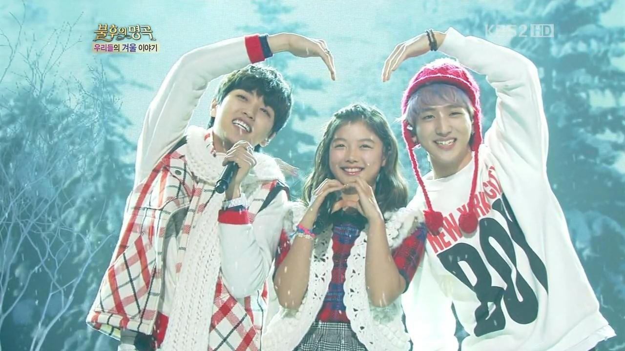 [Perf] B1A4   White Love @ KBS Immortal Song 2 121215