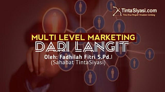 Multi Level Marketing dari Langit