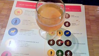 Sample beer at Great Divide Tasting Room