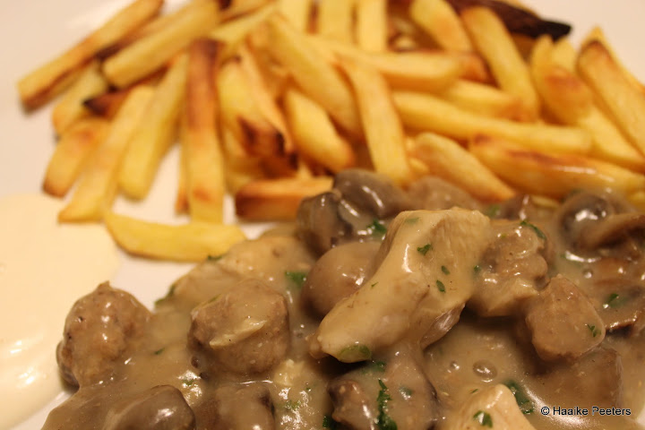 Vol-au-vent met frietjes (Le petit requin)