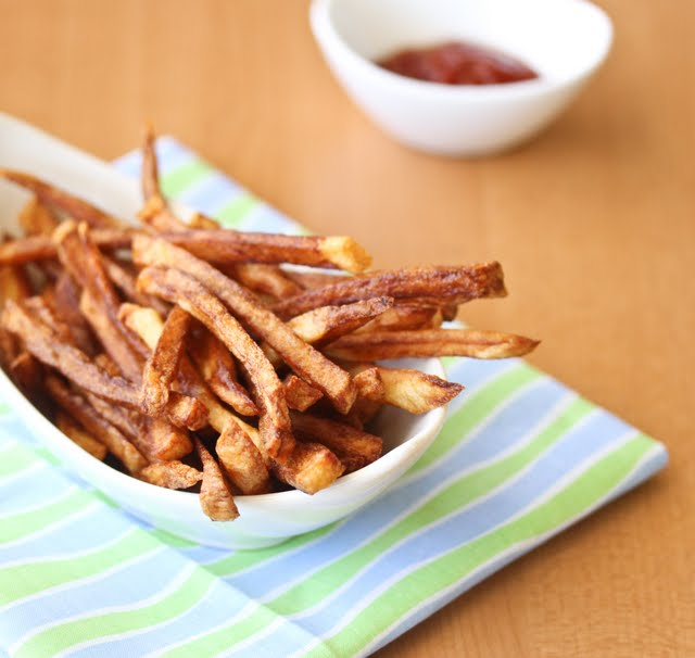 photo of a bowl of french fries