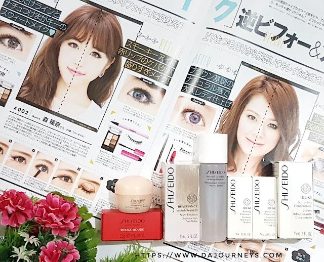Review Shiseido Trial Kit