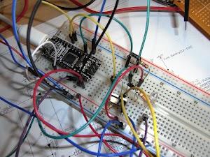 簡易インジェクションコントローラをブレッドボード上に構築